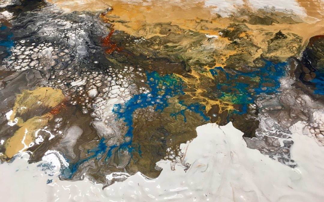 Dirty Pour: Acrylics