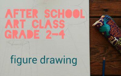 Grade 2-4 Cartooning/figure drawing