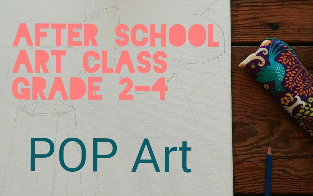 Grade 2-4 POP art