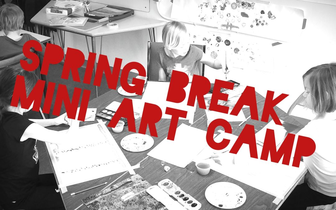Spring Break Art Classes